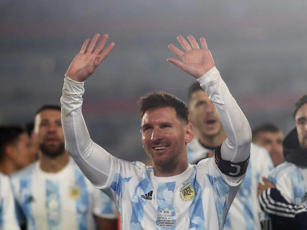 Lionel Messi encabeza la lista de la selección argentina para la triple fecha de Eliminatorias Sudamericanas de octubre (REUTERS/Juan Ignacio Roncoroni)