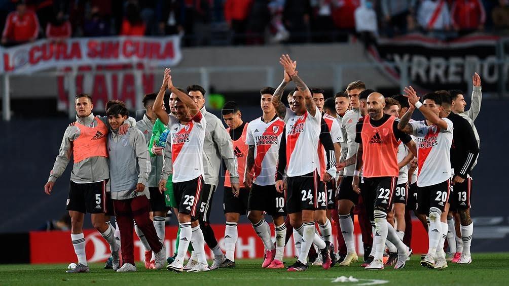 River, ganó el Superclásico y encabeza las posiciones de la actual Liga Profesional de Fútbol, tras la fecha 14. Foto: Fernando Gens